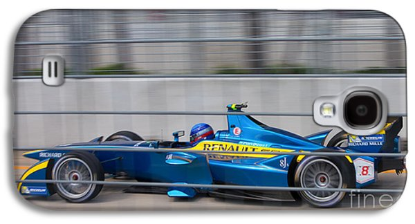 Michelin Galaxy S4 Cases - Renault Race Team ePrix II Galaxy S4 Case by Rene Triay Photography
