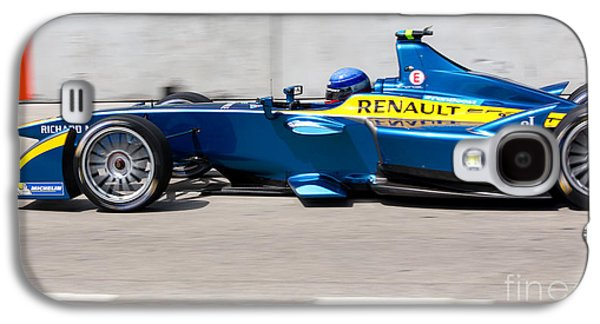 Michelin Galaxy S4 Cases - Renault Race Team ePrix Miami Galaxy S4 Case by Rene Triay Photography
