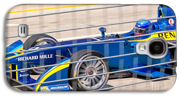 Michelin Galaxy S4 Cases - Renault Race Team ePrix IV Galaxy S4 Case by Rene Triay Photography