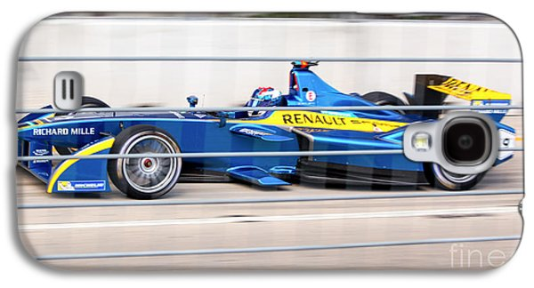 Michelin Galaxy S4 Cases - Renault Race Team ePrix Championship Race Galaxy S4 Case by Rene Triay Photography