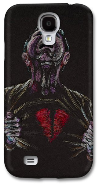 Religious Pastels Galaxy S4 Cases - Rend Your Hearts - Not Your Garments Galaxy S4 Case by Michele Myers