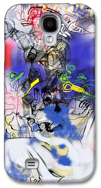 Inner Self Galaxy S4 Cases - Renewel 6 Galaxy S4 Case by David Baruch Wolk
