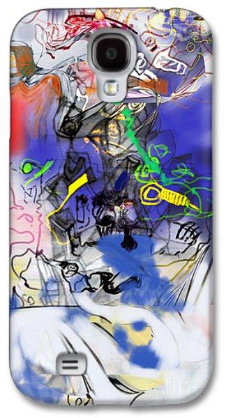 Inner Self Galaxy S4 Cases - Renewel 7 Galaxy S4 Case by David Baruch Wolk