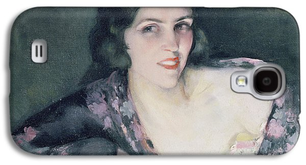 Alluring Paintings Galaxy S4 Cases - Repose Galaxy S4 Case by Eugene Cyprian Boulet