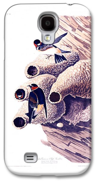 Architecture Acrylic Prints Galaxy S4 Cases - Republican or Cliff Swallow Galaxy S4 Case by Celestial Images