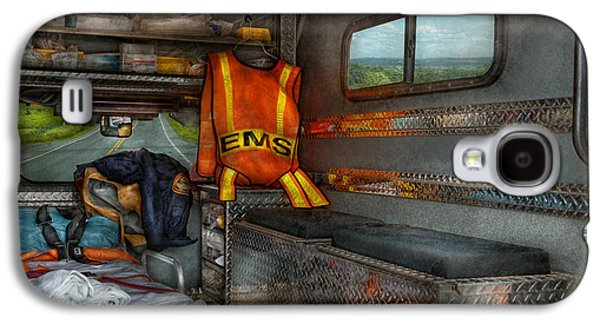 Rescue - Emergency Squad  Galaxy S4 Case by Mike Savad