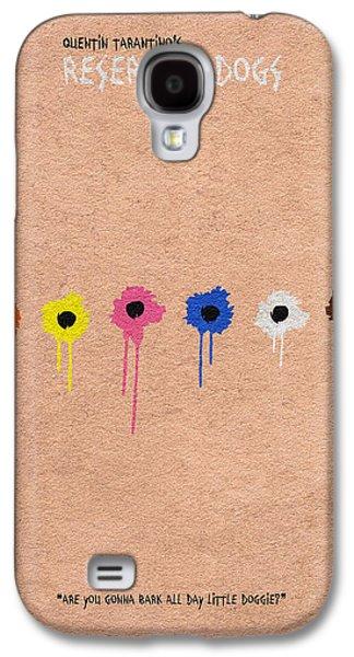 Recently Sold -  - Dogs Digital Galaxy S4 Cases - Reservoir Dogs - 2 Galaxy S4 Case by Ayse Deniz