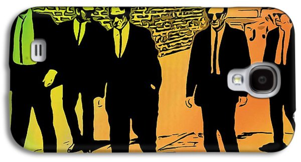 Reservoir Galaxy S4 Cases - Reservoir Dogs Galaxy S4 Case by Dan Sproul