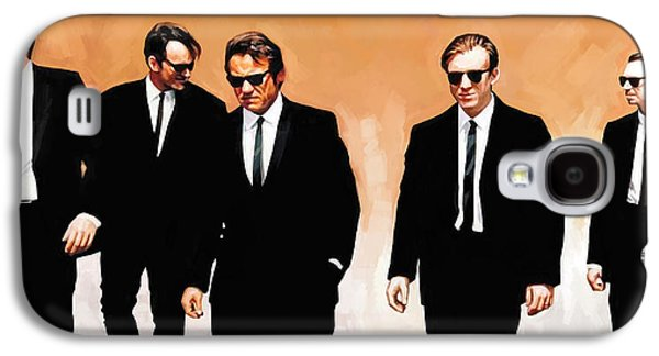 Reservoir Galaxy S4 Cases - Reservoir Dogs Movie Artwork 1 Galaxy S4 Case by Sheraz A