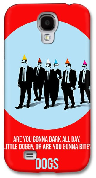 Reservoir Galaxy S4 Cases - Reservoir Dogs Poster 1 Galaxy S4 Case by Naxart Studio