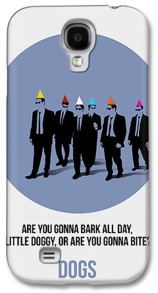 Reservoir Galaxy S4 Cases - Reservoir Dogs Poster  Galaxy S4 Case by Naxart Studio