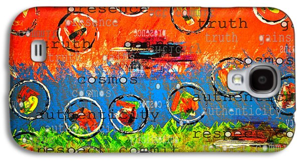 Gain Mixed Media Galaxy S4 Cases - Resolution ... breaking into parts Galaxy S4 Case by Gwyn Newcombe