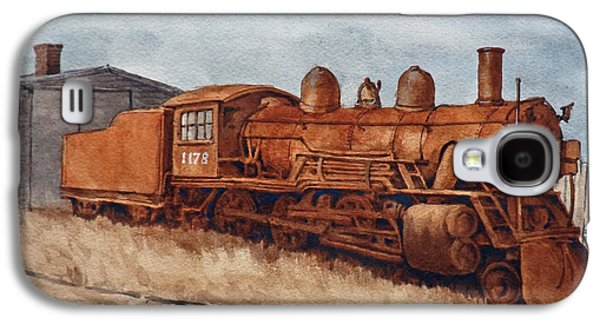 Transportation Ceramics Galaxy S4 Cases - Rest in Peace Engine 1178 Galaxy S4 Case by Dan Krapf