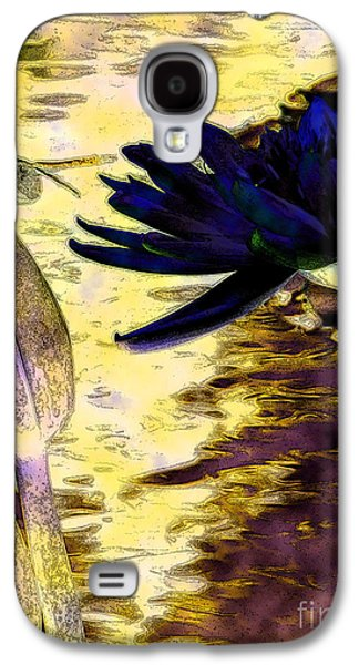 Abstract Digital Art Galaxy S4 Cases - Rest Stop 3 Galaxy S4 Case by Diane DiMarco