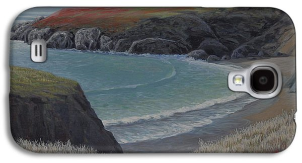 Beach Landscape Galaxy S4 Cases - Restful Cove Galaxy S4 Case by James English Babcock