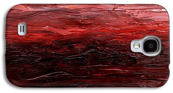 Sunset Abstract Galaxy S4 Cases - Restimulate Galaxy S4 Case by Paul Anderson