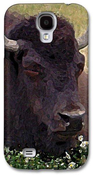 Resting Bison Galaxy S4 Case by Michele  Avanti