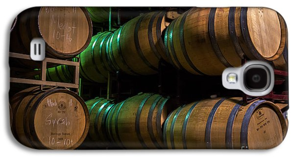 Wine Grapes Galaxy S4 Cases - Resting Wine Barrels Galaxy S4 Case by Iris Richardson
