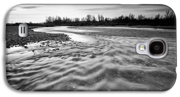 Landscapes Photographs Galaxy S4 Cases - Restless river III Galaxy S4 Case by Davorin Mance