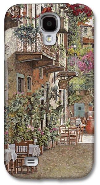 Wine Scene Galaxy S4 Cases - Rethimnon-Crete-Greece Galaxy S4 Case by Guido Borelli