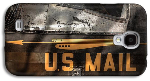 Us Postal Service Galaxy S4 Cases - Retired Mail Carrier - Pitcairn P-6 Mailwing 1929 Galaxy S4 Case by Gary Heller