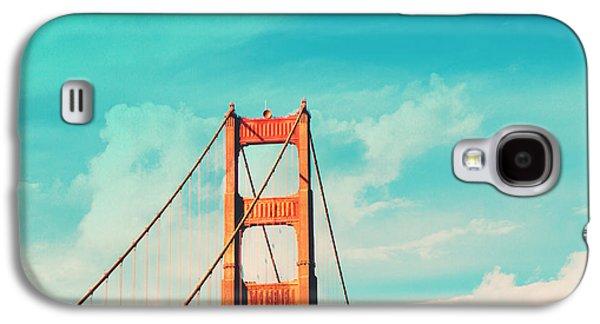 Retro Golden Gate - San Francisco Galaxy S4 Case by Melanie Alexandra Price