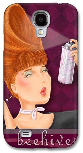 Retro Hairdos-beehive Galaxy S4 Case by Shari Warren