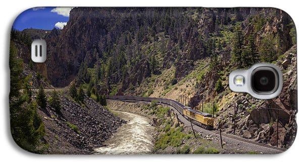 Caboose Photographs Galaxy S4 Cases - Retro Galaxy S4 Case by Joan Carroll