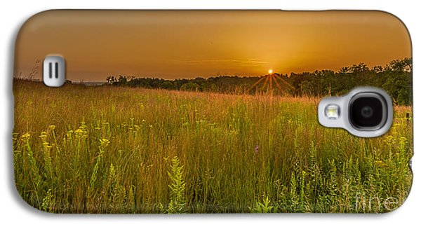 Nature Center Galaxy S4 Cases - Retzer Sunset Galaxy S4 Case by Andrew Slater