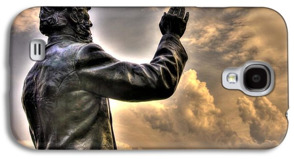 Yankee Division Galaxy S4 Cases - Rev. Father William E. Corby C S C - Blessing the Troops of the 88th New York Infantry Irish Brigade Galaxy S4 Case by Michael Mazaika