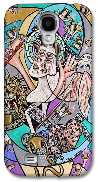 Revelation Chapter 5 6-14 Galaxy S4 Case by Anthony Falbo