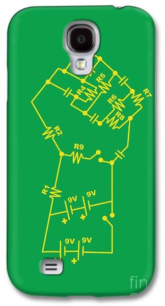 Engineer Galaxy S4 Cases - Revolt Galaxy S4 Case by Budi Kwan