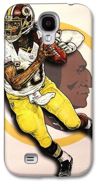 Nike Paintings Galaxy S4 Cases - Rg3 Galaxy S4 Case by Anthony Young