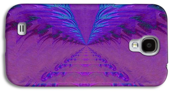 Abstract Digital Paintings Galaxy S4 Cases - Rhapsody Galaxy S4 Case by Mike Breau