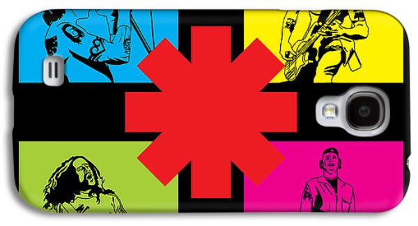 Famous Artist Galaxy S4 Cases - RHCP No.01 Galaxy S4 Case by Caio Caldas