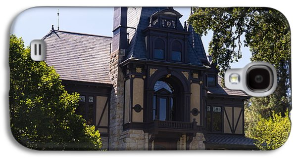 Napa Valley And Vineyards Galaxy S4 Cases - Rhine House At Beringer Winery St Helena Napa California DSC1719 square Galaxy S4 Case by Wingsdomain Art and Photography