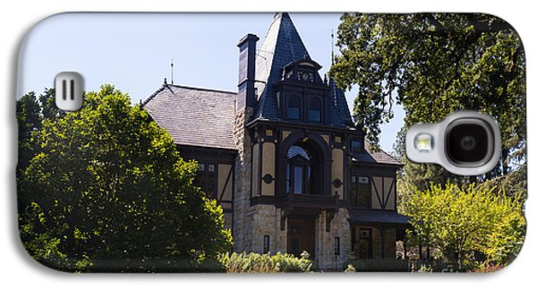 Napa Valley And Vineyards Galaxy S4 Cases - Rhine House At Beringer Winery St Helena Napa California DSC1719 Galaxy S4 Case by Wingsdomain Art and Photography