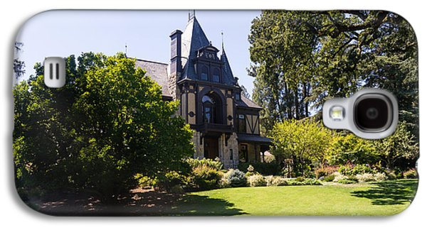 Napa Valley And Vineyards Galaxy S4 Cases - Rhine House At Beringer Winery St Helena Napa California DSC1722 Galaxy S4 Case by Wingsdomain Art and Photography