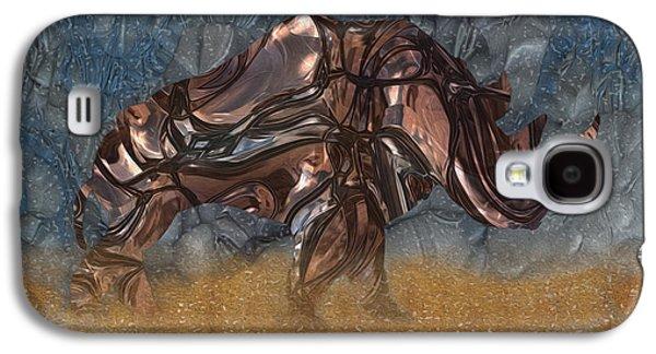Painter Photo Galaxy S4 Cases - Rhino 4 Galaxy S4 Case by Jack Zulli