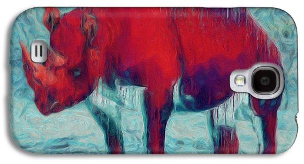 Painter Photo Galaxy S4 Cases - Rhino Galaxy S4 Case by Jack Zulli
