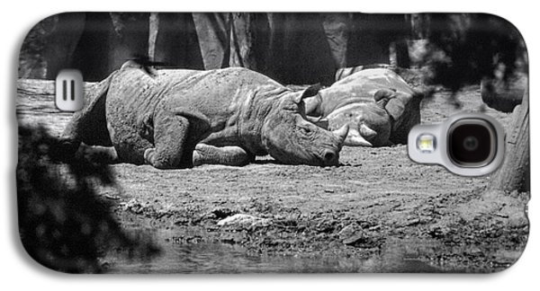Rhino Nap Time Galaxy S4 Case by Thomas Woolworth