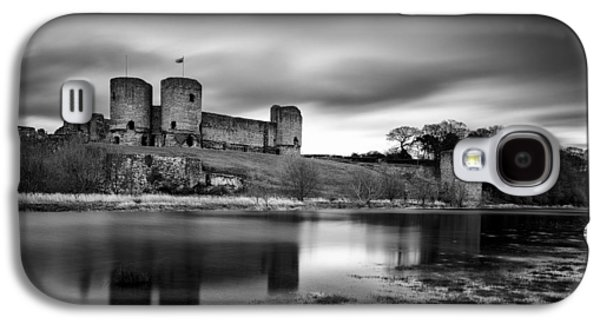 Rhuddlan Castle Galaxy S4 Case by Dave Bowman