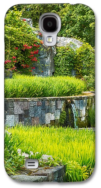 Interior Scene Photographs Galaxy S4 Cases - Rice Garden Galaxy S4 Case by Wim Lanclus