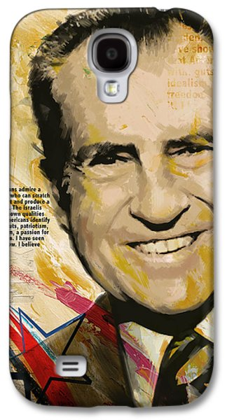 Richard Nixon Galaxy S4 Case by Corporate Art Task Force