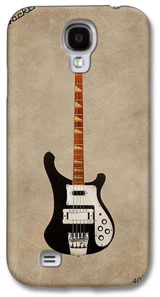 Music Photographs Galaxy S4 Cases - Rickenbacker 4001 1979 Galaxy S4 Case by Mark Rogan