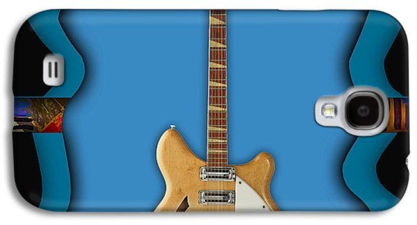 Instrument Galaxy S4 Cases - Rickenbacker Guitar Collection Galaxy S4 Case by Marvin Blaine