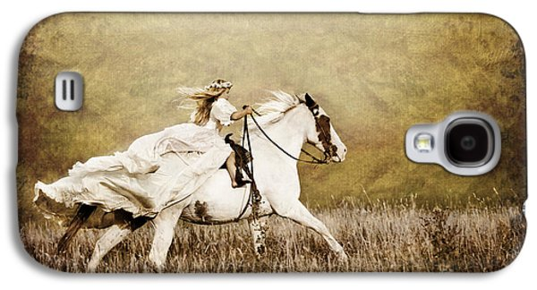 Ride Like The Wind Galaxy S4 Case by Cindy Singleton