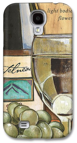 Wine Bottle Galaxy S4 Cases - Riesling Galaxy S4 Case by Debbie DeWitt