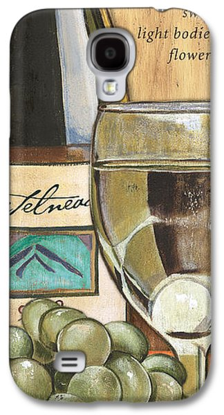 Text Galaxy S4 Cases - Riesling Galaxy S4 Case by Debbie DeWitt