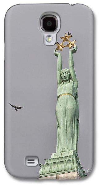 Star Alliance Photographs Galaxy S4 Cases - Riga Freedom Monument 03 Galaxy S4 Case by Antony McAulay